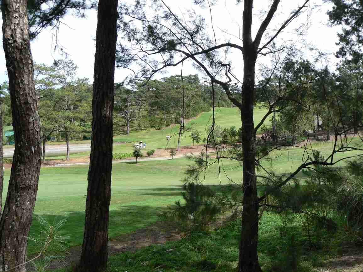 Golf course at Camp John Hay, Baguio City, Philippines