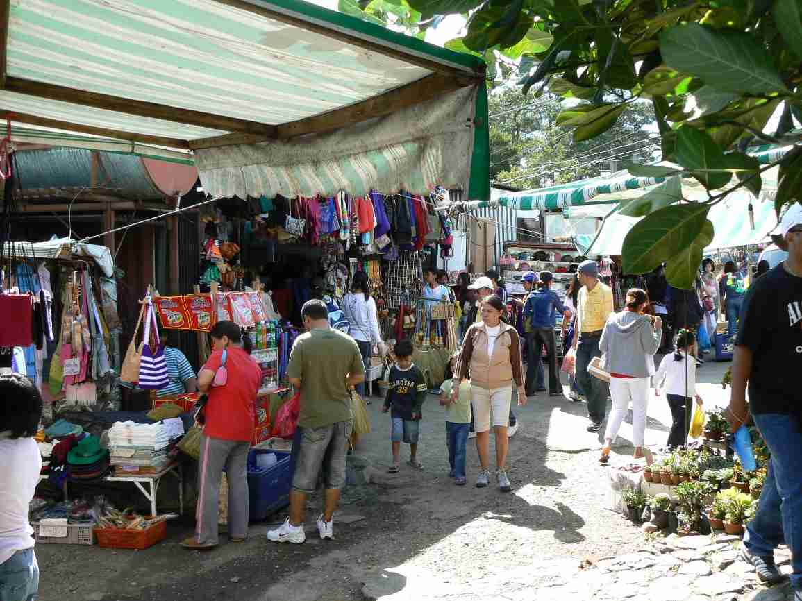Market at Mines View, Baguio City, Philippines