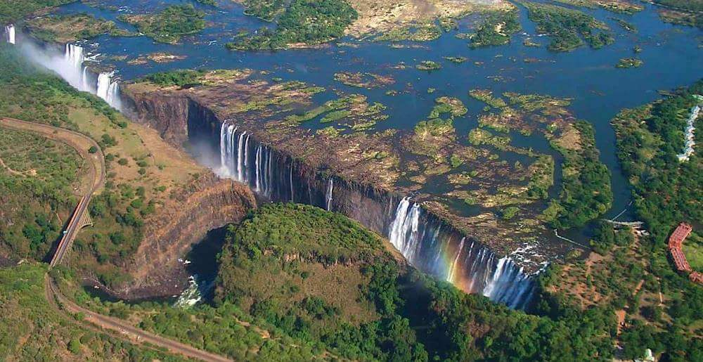 Victoria Falls in the Dry Season