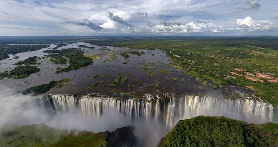 Victoria Falls in the Wet Season