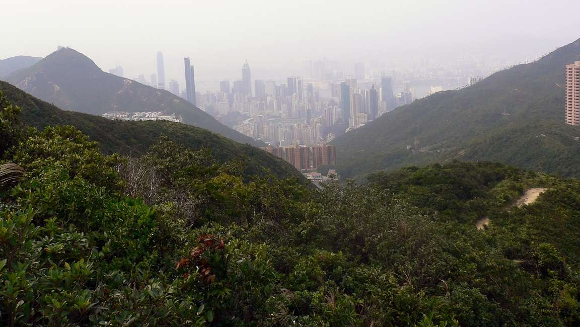 Hong Kong Island from the Wilson Trail