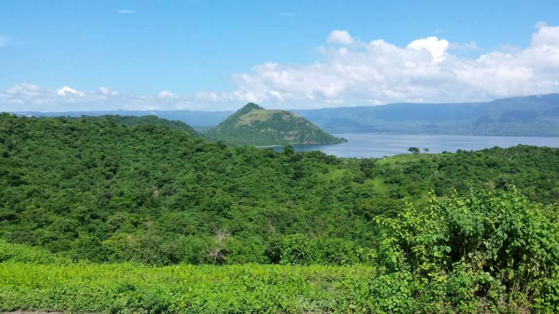 The Taal volcano