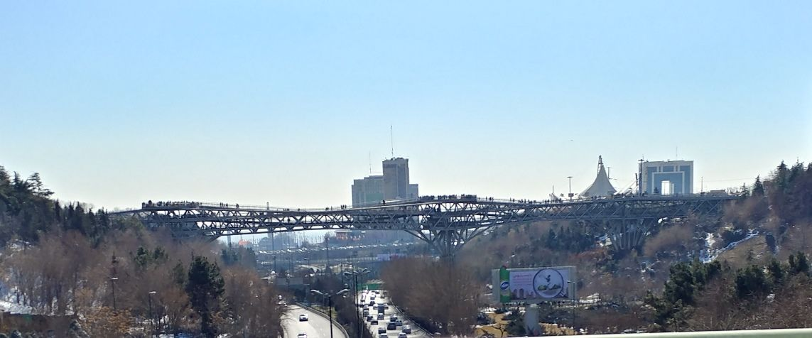 Tabiat Bridge, Tehran